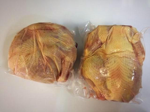 Jumbo Natural Roasting Chickens (2 portions)