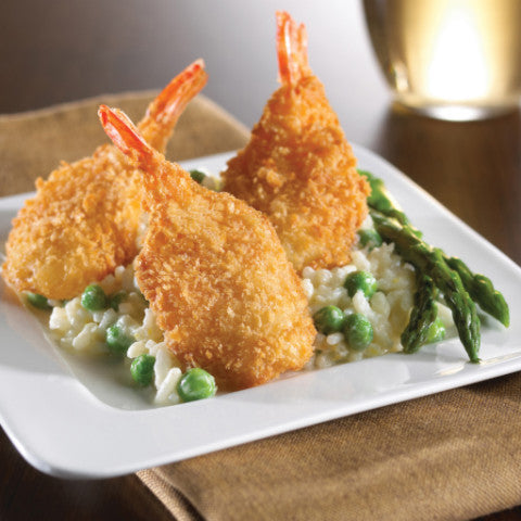 Coconut Breaded Fantail Shrimp (42-50 portions)