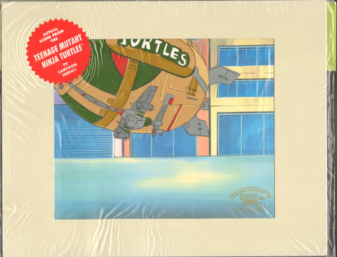Teenage Mutant Ninja Turtles (TMNT)! Original Production Animation cell w COA 9