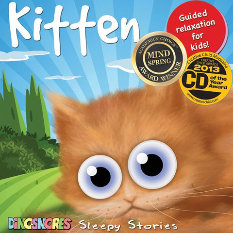 Kitten | Sleep CD for Toddler | Dinosnores