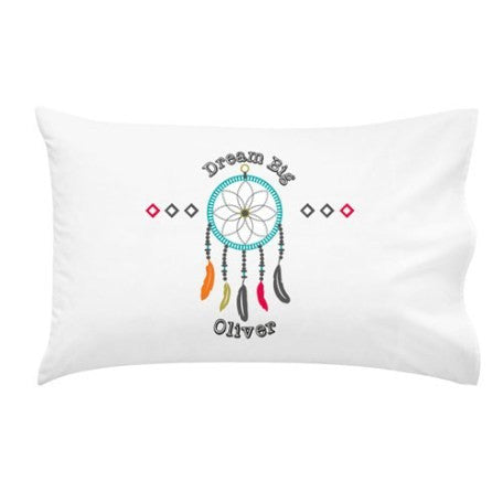 Dream Catcher | Boys Personalised Pillow Case