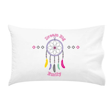 Dreamcatcher Girls Personalised Pillow Case