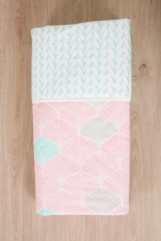 Blush Baby Reversible Quilt | Baby Boss