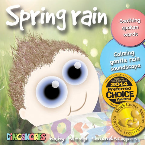 Spring Rain | Sleep CD for Babies | Dinosnores