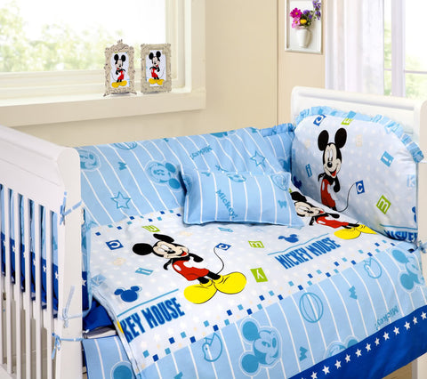 Disney Mickey Mouse Cot Sets