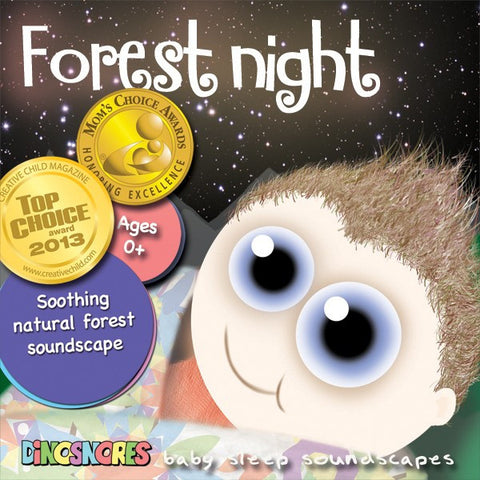 Forest Night | Sleep CD for Babies | Dinosnores
