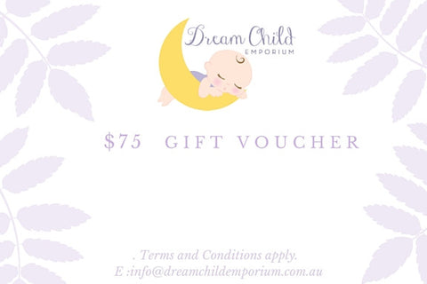 Gift Voucher $75 | Dream Child Emporium