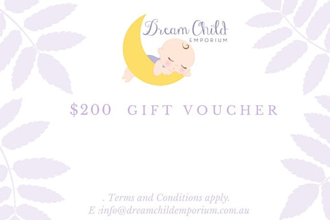 Gift Voucher $200 | Dream Child Emporium