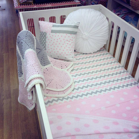 Fitted Cot Sheets | Bambella Designs