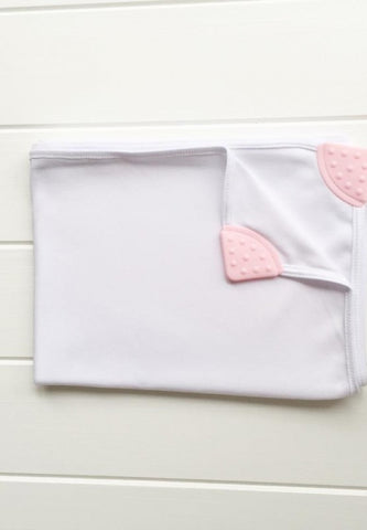 Organic Teething Wrap / blanket - upf25 | Hodge Podge Baby