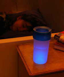 Clear Sippy Cup + Night Light (Lights up Blue)