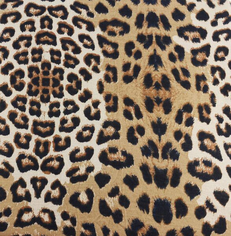 Leopard Fitted Cot Sheet | Wild + Bliss