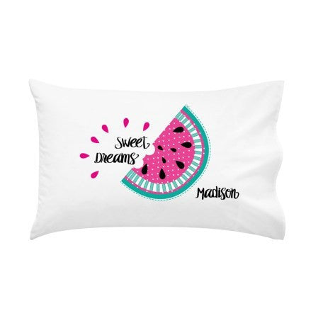 Watermelon Personalised Pillow Case