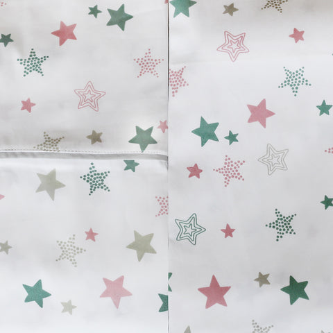 Organic Cotton Cot Sheet Set | Starlight | Mockingbird Street