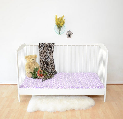 Ikate Fitted Cot Sheet | Wild + Bliss