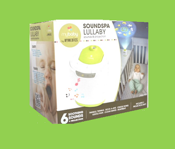 Homedics Sound Spa Lullaby & Night Light