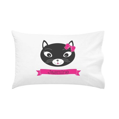 Purfect Kitty Personalised Pillow Case