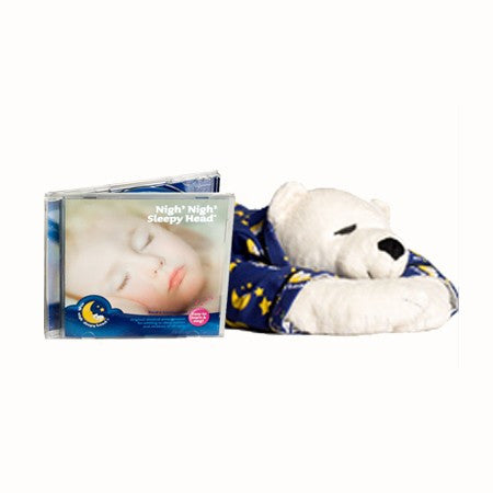 Lullaby CD & Sleepy Head Ted | Nigh Nigh Sleepy Head