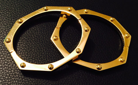Octagon Bangle
