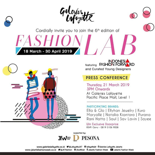 d876911aa ELLA   GLO AT THE 6TH EDITION FASHION LAB   GALLERIES LAFAYETTE JAKARTA