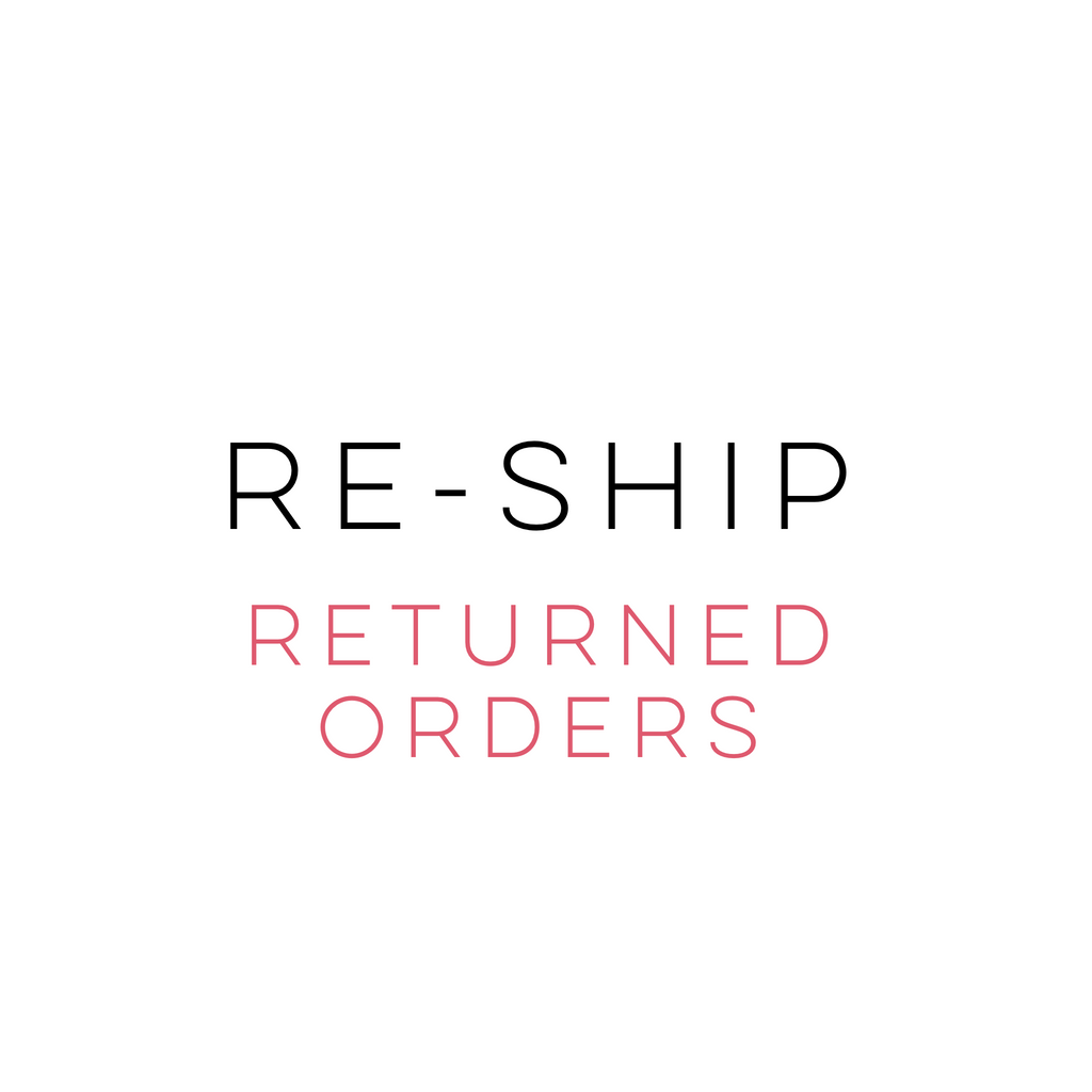 Reship a Returned Order