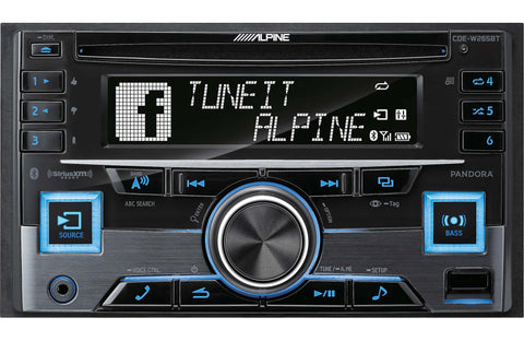 Alpine CDE-W265BT CD receiver