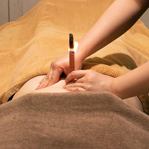 Navel Candling Treatment (15mins) at MEROSKIN