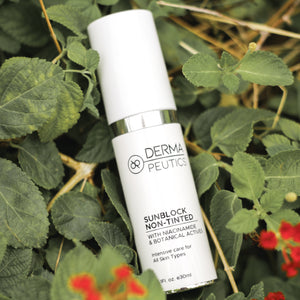 Dermapeutics SPF50 Non-Tinted Sunblock at MEROSKIN