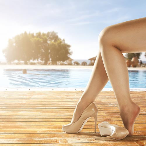 SHR Thigh or Lower Leg Super Hair Removal at MEROSKIN
