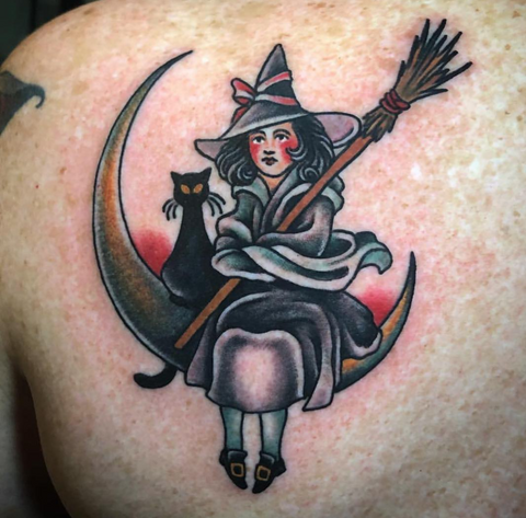 Love The Chilling Adventures of Sabrina?  You'll love these Witch Tattoos! | Dynamic Triple Black