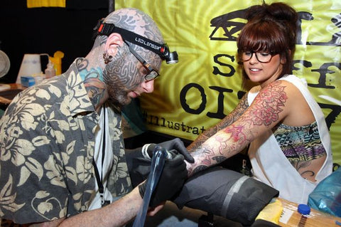 tattoo convention tattooing