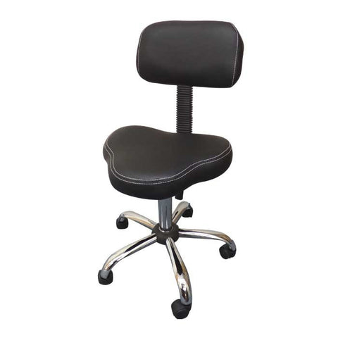 Ergo Chair Tattoo Stool - Black