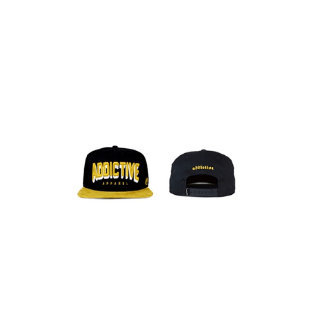 Suede Snapback by Addictive Clothing