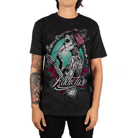 Beauty Catrina T-Shirt by Addictive Clothing - magnumtattoosupplies
