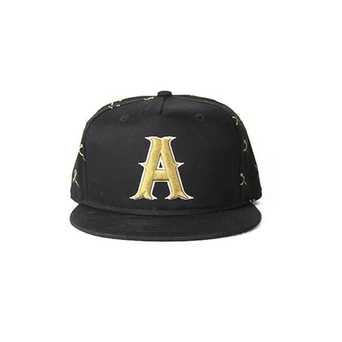 Gold Logo Snapback by Addictive Clothing