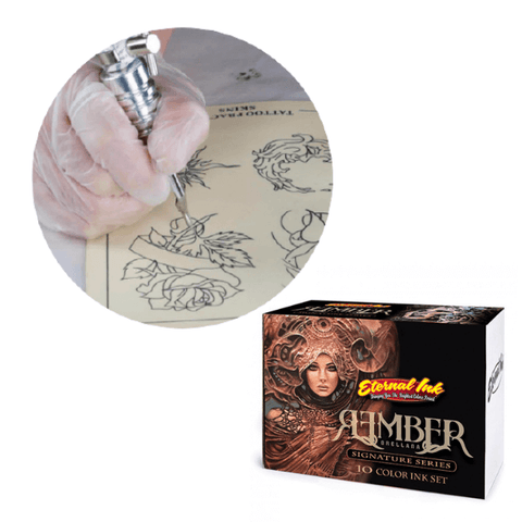 Tattoo Practice Ink - Eternal Ink Rember Signature Set 1oz