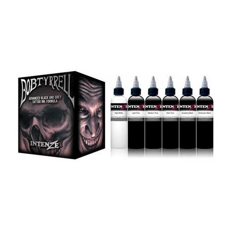 Bob Tyrell Complete Set By Intenze - magnumtattoosupplies