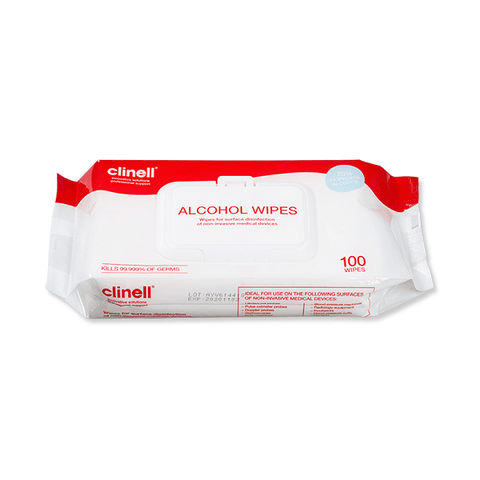 Clinell - Large Alcohol Wipes (100) - magnumtattoosupplies