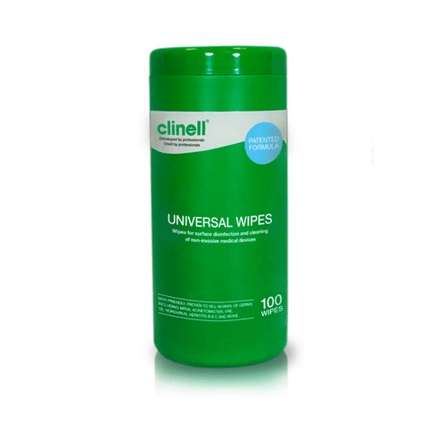 Clinell - Universal Sanitising Wipes Canister (100) - magnumtattoosupplies