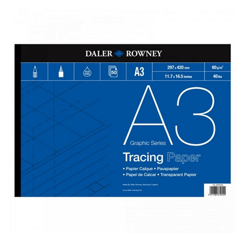 A3 Tracing Paper Pad (60gsm) (50)