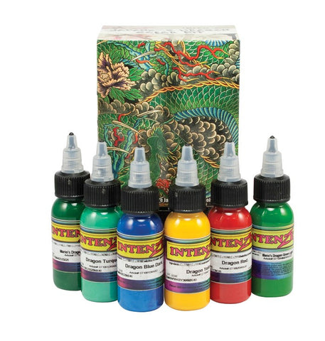Intenze Ink - Dragon Kit - magnumtattoosupplies