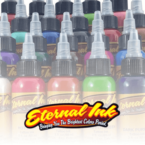 1oz Eternal Ink - All Colours - magnumtattoosupplies