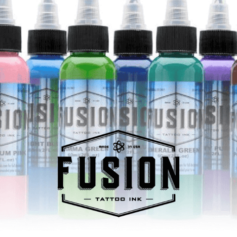 1oz Fusion Ink - All Colours - magnumtattoosupplies