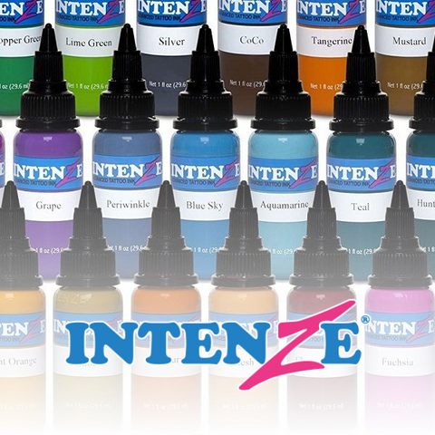 Intenze Ink 1oz - All Colours - magnumtattoosupplies