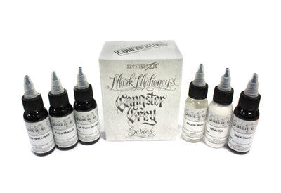 Intenze Ink Mark Mahoney's Gangster Grey Set - magnumtattoosupplies
