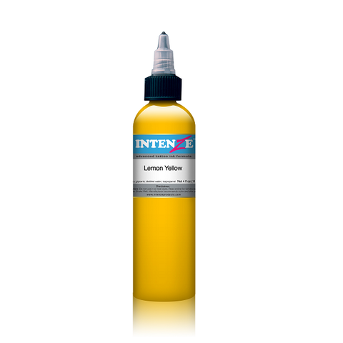 Intenze 1oz - Lemon Yellow