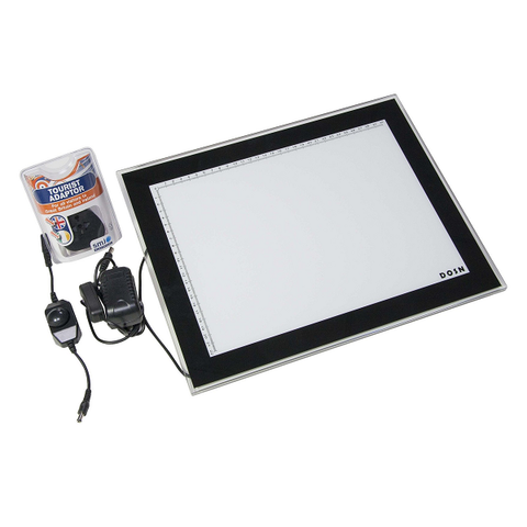 Ultra Thin Light Box 110v - 220v - magnumtattoosupplies