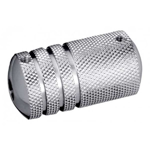 Premium Stainless Steel Tattoo Grip - Knurled-style - magnumtattoosupplies