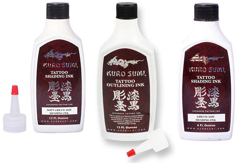 Kuro Sumi Greywash Set