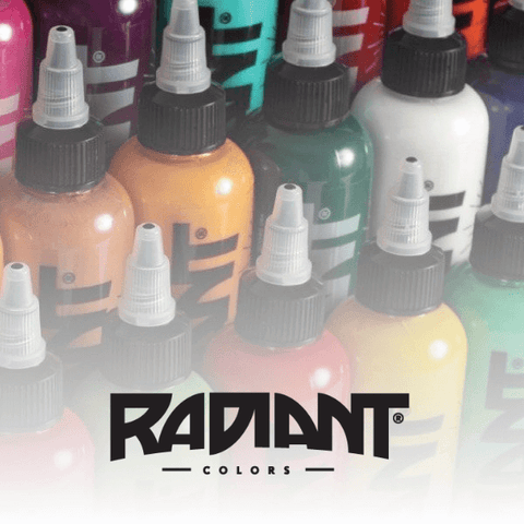 1oz Radiant Ink - All Colours - magnumtattoosupplies